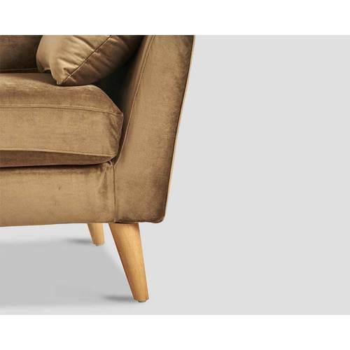 Диван тройка DB005673 коричневый Dialma Brown