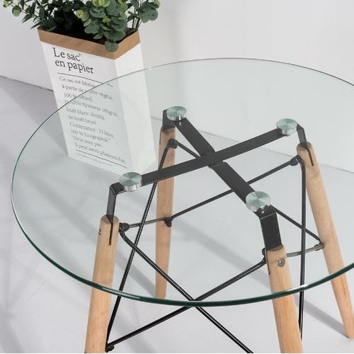 Стол обеденный Имз прозрачный Mebelmodern 2019