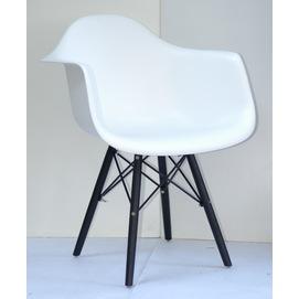 Кресло Leon BK белое 8935 Thexata 2019