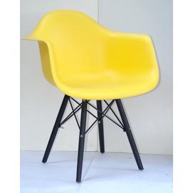 Кресло Leon BK желтое 8939 Thexata 2019