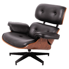 Кресло Eames lounge черное iCOO