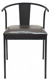 Кресло Bien être черное+коричневое Mon
