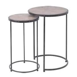 Набор столиков KLT2 черный Mon