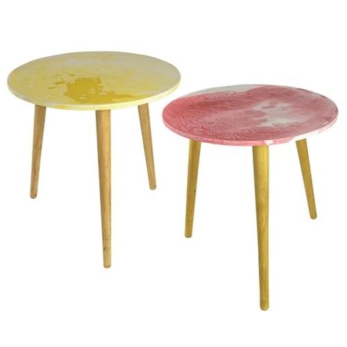 Набор столиков SS004787 желто-красный WilleWood 2019