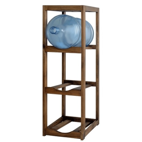 Подставка под 3 бутылки Прага  коричневая SS004647 Woodville 2019