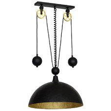 Лампа подвесная DANTON I 901G3 черная Aldex
