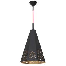 Лампа подвесная ATOM 767G1/D черная Aldex
