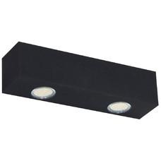 Точечный светильник BRASCO 729M_1 черный Aldex