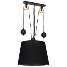 Лампа подвесная DANTON I 901G4 черная Aldex