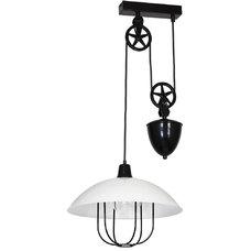 Лампа подвесная DANTON III 908G_D белая Aldex