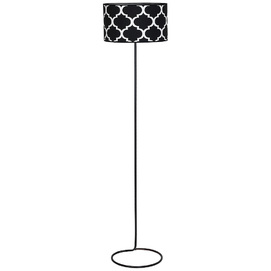 Лампа напольная ROCCO 918A1 черная Aldex