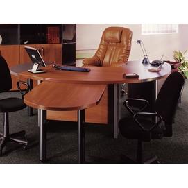 Кабинет руководителя Гранд-ДСП с брифингом, шкафами, журн.столом (Sali)