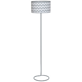 Лампа напольная ROMA 919A17 серая Aldex