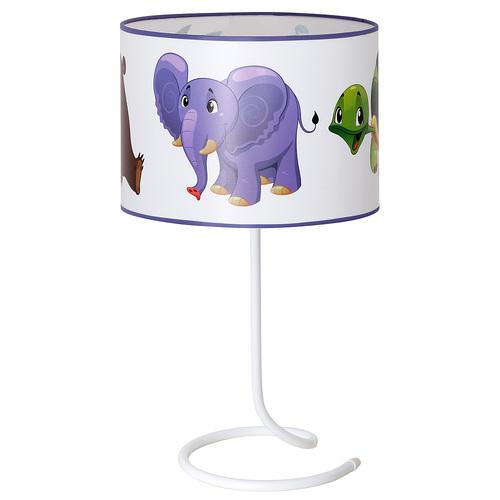 Лампа детская 657B17 цветная Aldex