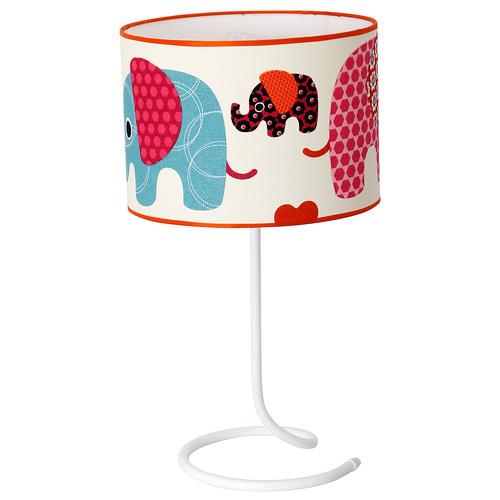Лампа детская 657B14 цветная Aldex