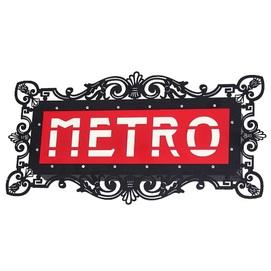 Светильник настенный METRO 821 S5 черный Aldex