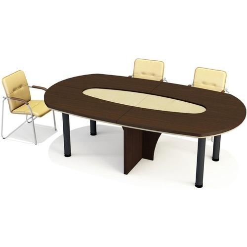 Стол для переговоров Триумф  7/106+7/106 Венге (240х1340х76см)  Sali