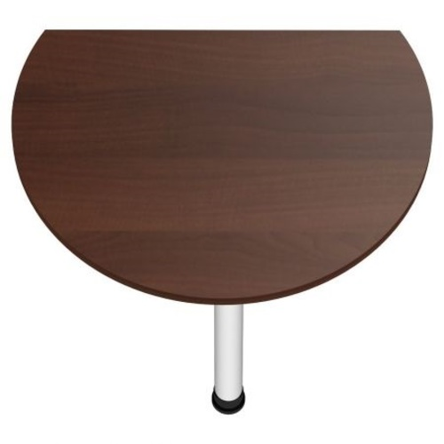 Стол приставной Магистр МГ-308 (84х63,6х75) орех темный Famm