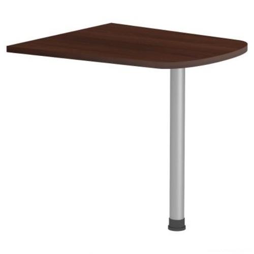 Стол приставной (брифинг) Магистр МГ-311 (80х72х75) орех темный Famm