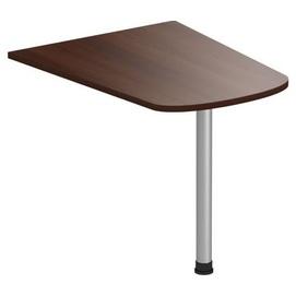Стол приставной (брифинг) Магистр МГ-312 (100х80х75) орех темный Famm