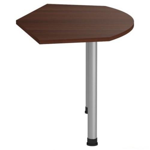 Стол приставной Магистр МГ-318 (138,2х80х75) Орех темный 148241 Famm