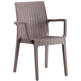 Кресло Dafne 544704 коричневое Famm 2019