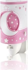 Ночник Moon Light 63235LS розовый Dalber