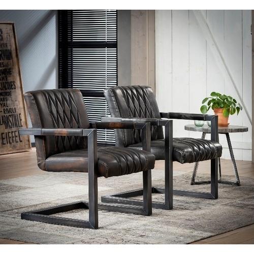 Кресло 4132/40 коричневое Zijlstra 2019N