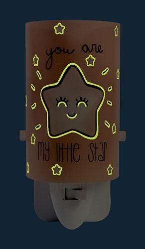 Ночник My Little Star 92841  розовый Dalber