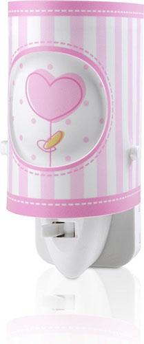 Ночник Sweet Light 63221L розовый Dalber