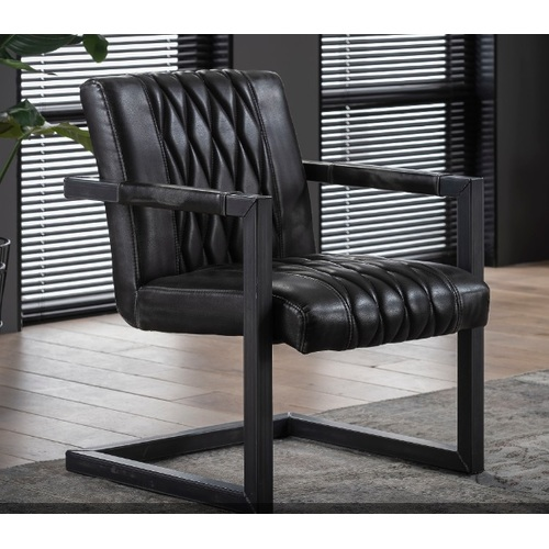 Кресло 4132/45 антрацит Zijlstra 2019N