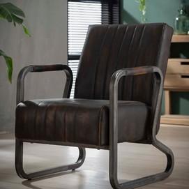 Кресло 4149/40 коричневое Zijlstra 2019N