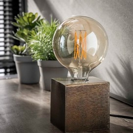 Лампа настольная 7158/30 антик бронза Zijlstra 2019N