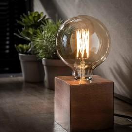 Лампа настольная 7158/31A никель Zijlstra 2019N