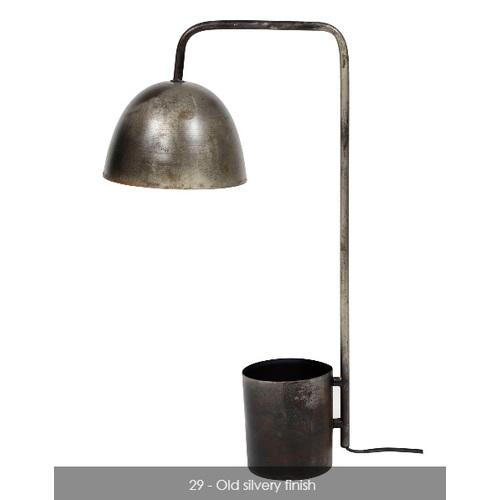 Лампа настольная 7667/29 серебро Zijlstra 2019N