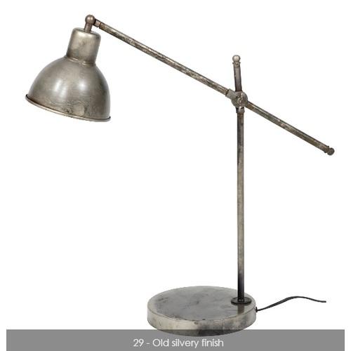Лампа настольная 7668/29 серебро Zijlstra 2019N