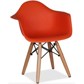 Кресло детское Leon Kids красное 9004 Thexata 2019