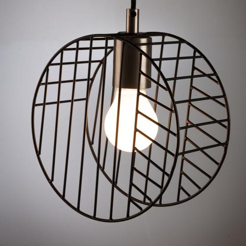 Лампа подвесная Arietta AA4308R01 черная Laforma 2019