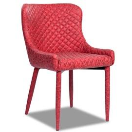 Кресло МС15 красный кожзам Peijan