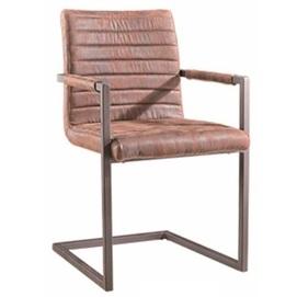 Кресло офисное DC-4843 коричневое Peijan