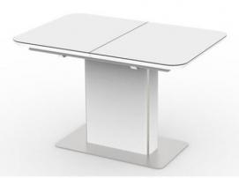 Стол обеденный раскладной Barrie 120см белый Kolin 2019