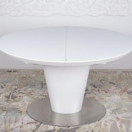 Стол обеденный раскладной GEORGIA белый Kolin 2019