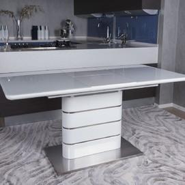 Стол обеденный раскладной Richmond белый Kolin 2019