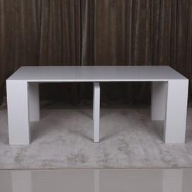 Стол обеденный раскладной MANCHESTER белый Kolin 2019