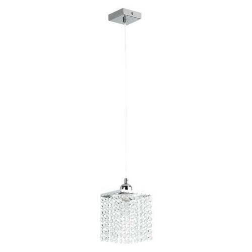 Лампа подвесная Moss 15831 хром Alfa
