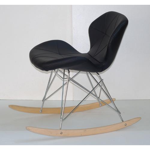 Кресло качалка Invar 9347 черная Thexata 2019