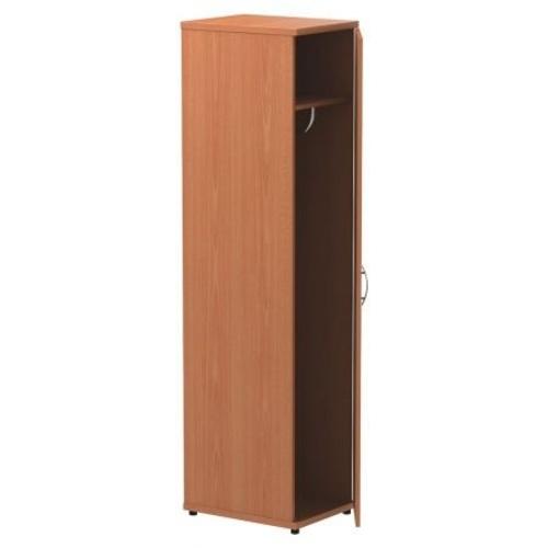 Шкаф для одежды Уно R-21S Вишня (55х42х200см) 140116 Famm