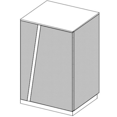 Тумба Rays 31/601 (45х40х78,2см) Sali