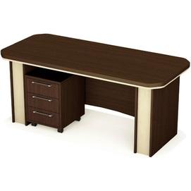 Стол руководителя Триумф Комплект-2 (180х80х76см) Венге Sali