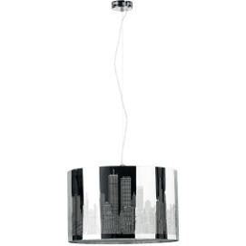 Лампа подвесная NEW YORK 15731 хром Alfa